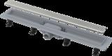 Žlab podlaha APZ9 plast 850mm vč. roštu matný