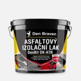 Lak asfaltový DenBit 4,5kg izolační DK-ATN