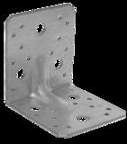 Úhelník komb. s prolisem  90x105x105x3,0  4 díry