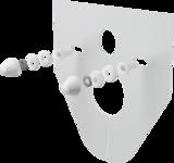 Izolace zvuková - závěsné WC + bidet