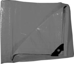Plachta zakrývací šedá 3x5m 130g/m2 - 1