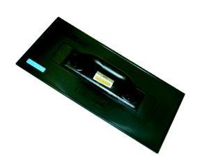 Hladítko plast rovné  40x18cm černé