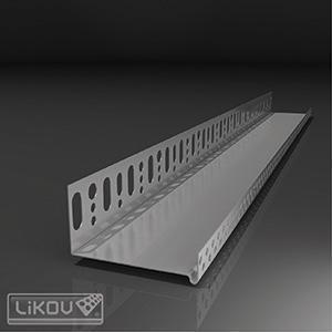 Lišta sokl zakládací  50mm/2m - 1