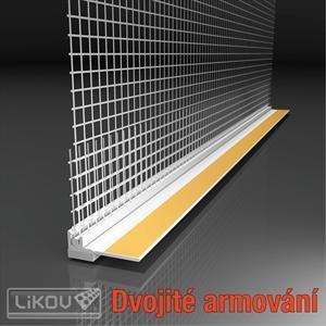 Profil okenní EKO s tkaninou 2.4m VERTEX - 1