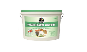 Barva fasádní KOMFORT 10l - bílá (16kg)