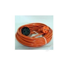 Kabel prodlužovací 25m, spojka, 3x1,5 oranžová