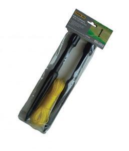 Šňůra zednická 15m, 2ks kolík 30cm - 1