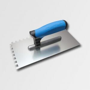 Hladítko nerez  4mm zub 27cm, KUBALA