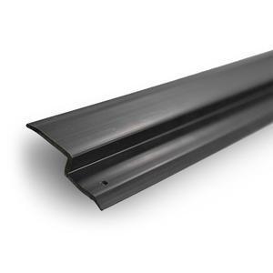 Lišta k nopové folii 8mm PVC d-2m, černá