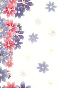 Magnolie 30x45cm dekor květy