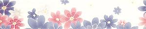 Magnolie 30x 6cm listela vícebarevná