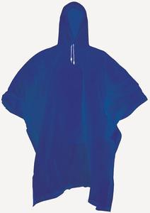 Pláštěnka poncho modrá univerzální (M-XL) - 1