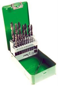 Sada vrtáků na kov 1-10mm 19ks