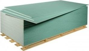 Sádrokarton GKBI 12,5 zelený (2x1,25m) 2,5m2