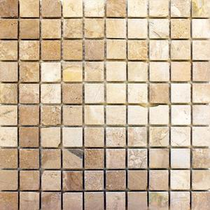 Travertine mozaika 30x30/2,8x2,8 - 1
