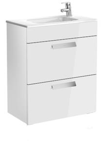 Skříňka umyvadlová Debba Unik 60cm bílá lesk