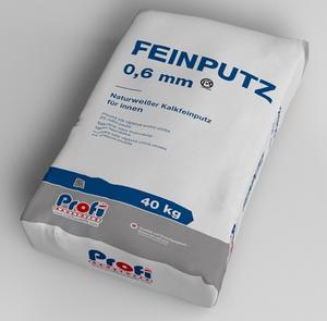 Štuk vnitřní PROFI Feinputz 0,6mm 40kg vápenocemen