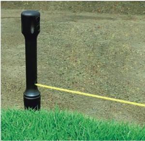 Šňůra zednická 15m, 2ks kolík 30cm - 2