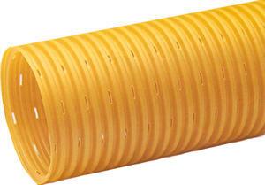 Trubka drenážní 125mm flexibilní,celoperforovaná - 2