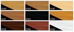 Lazura silnovrstvá na dřevo 0,75l - barevné tóny - 2