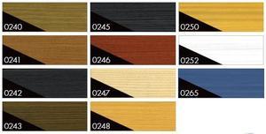 Lazura vnitřní na dřevo EZD 0,75l -barevné tóny - 2