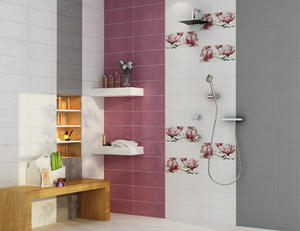 Fiore 20x50 obklad fialová - 2