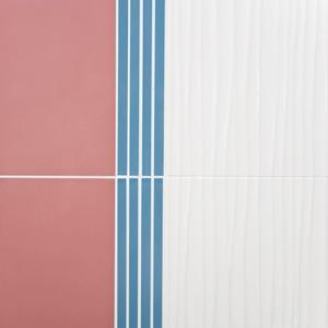 JOY 25x70 dekor bílý vlna - 3