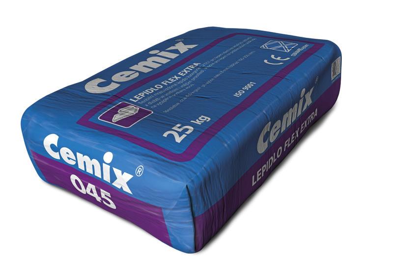 Flexibilní lepidlo cemix